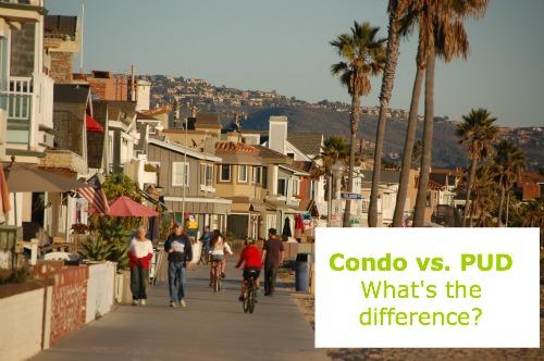 what's a PUD? Condo vs. PUD