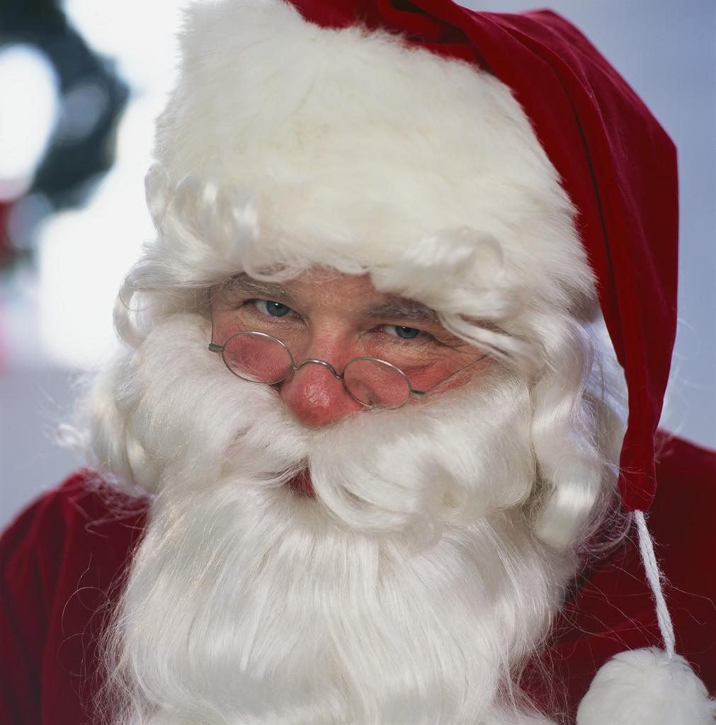 Santa in Huntington Beach