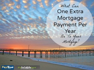 What Can Paying One Extra Mortgage Payment Per Year Do For You?