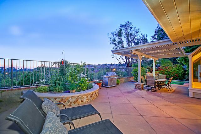 Backyard Orange CA