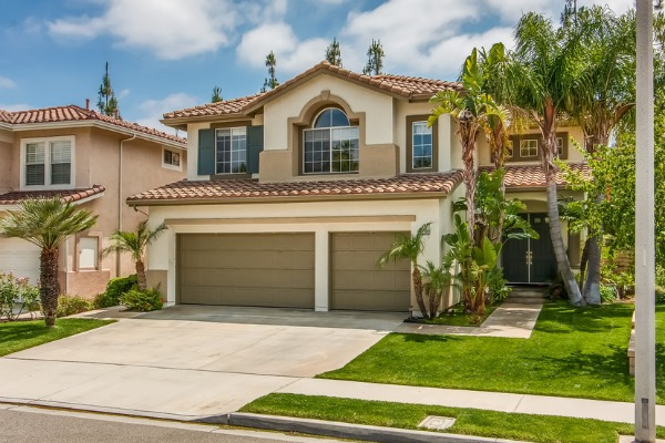 Home For Sale In Tustin CA - Front of home