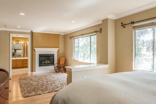 Home For Sale In Tustin CA - Master Bedroom