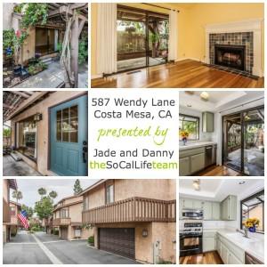 Home for Sale in Costa Mesa California