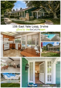 Home For Sale in Irvine CA: 106 East Yale Loop