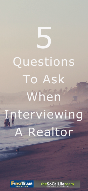 5 Questions To Ask When Interviewing A Realtor