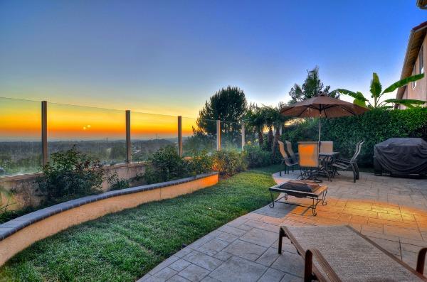 Home For Sale In Rancho Santa Margarita: Backyard