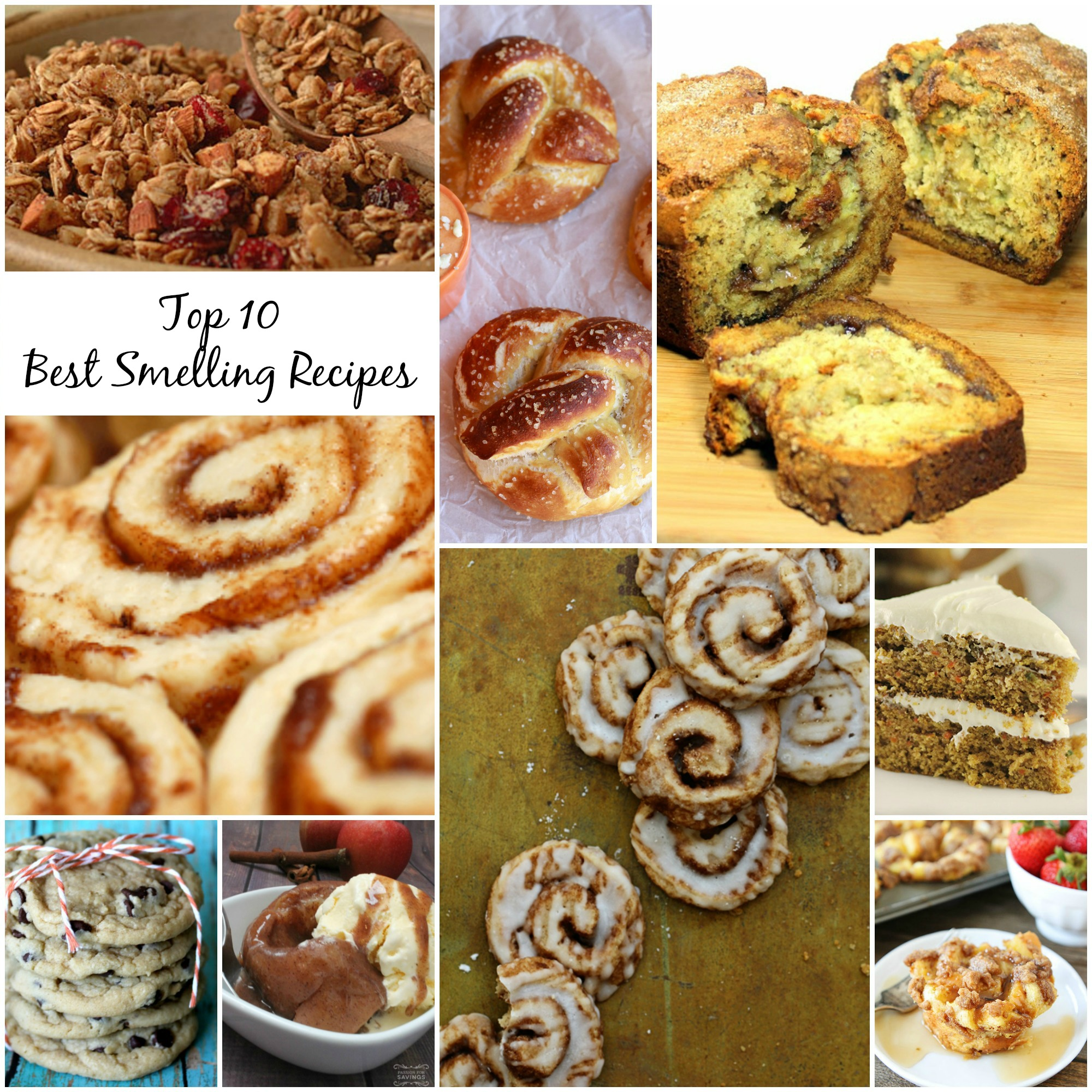 Top 10 Best Smelling Recipes