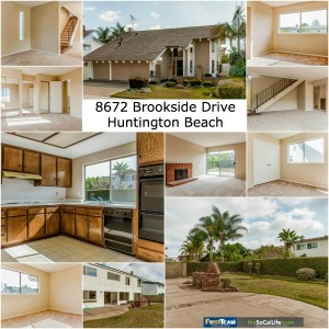 Home for Sale in Huntington Beach: 8672 Brookside Drive