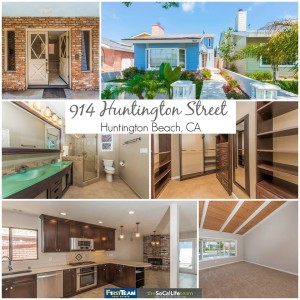 Home for Sale in Huntington Beach: 914 Huntington Street