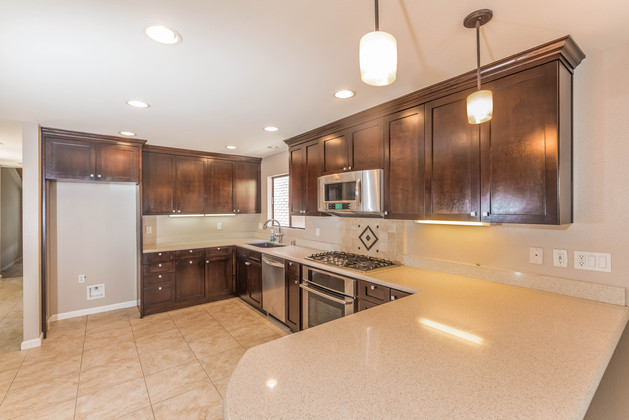 Remodeled Kitchen in Huntington Beach