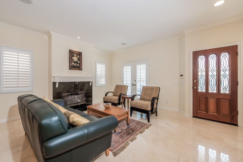 Home for Sale in Huntington Beach: Formal Living Room