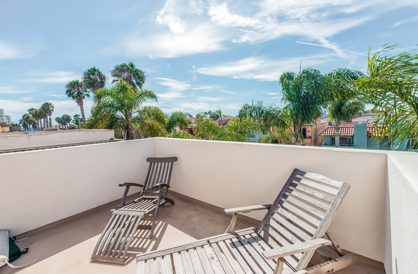 Home for Sale in Huntington Beach: Balcony