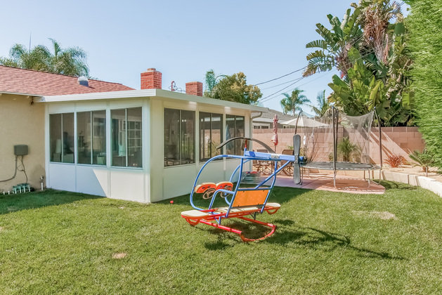 Huntington Beach Dream Home: Back Yard