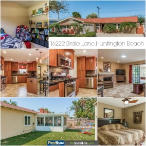 Home for sale in Huntington Beach: 16222 Birdie Lane
