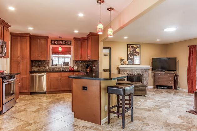 Huntington Beach Dream Home Kitchen