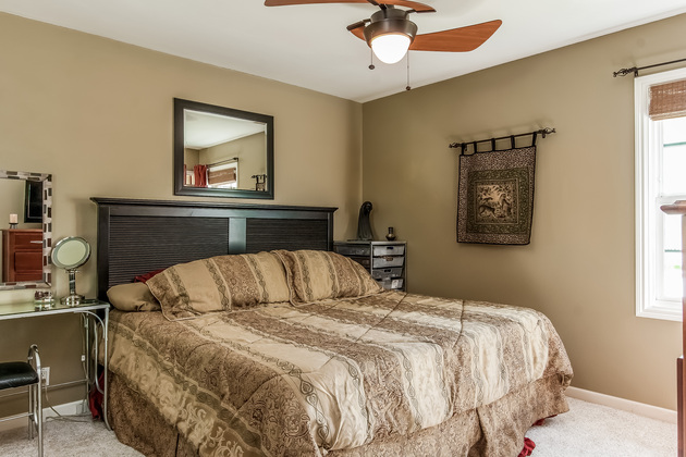 Master Bedroom: Huntington Beach home for sale