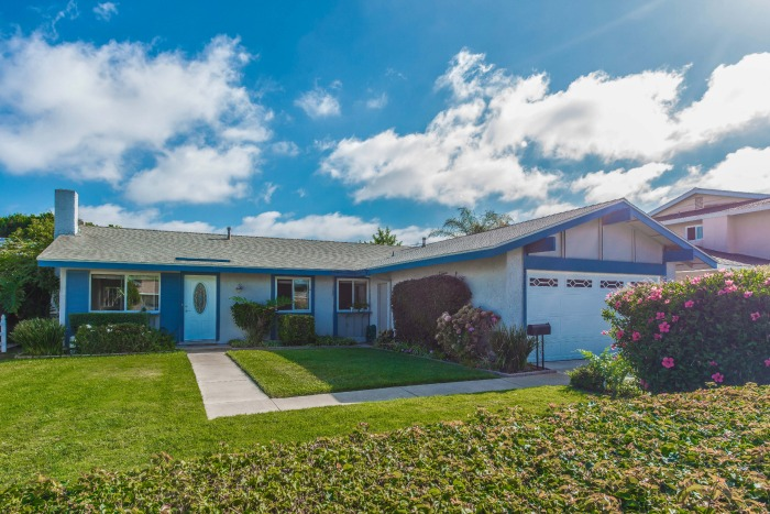 Front View of home for sale in Huntington Beach