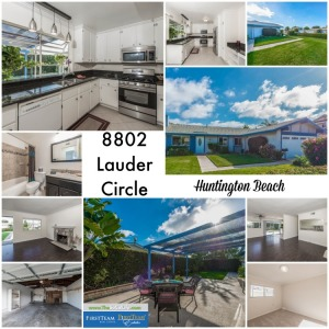 Home for Sale in Huntington Beach: 8802 Lauder Circle
