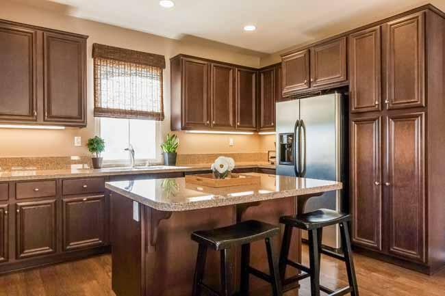 Chef's Kitchen in Irvine home