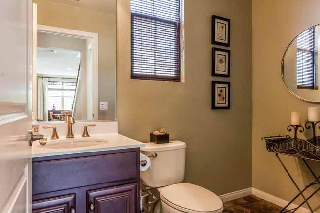 Downstairs Bathroom: Irvine