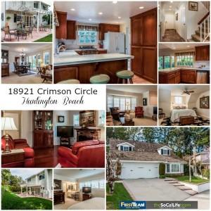 Home for Sale: 18921 Crimson Circle in Huntington Beach