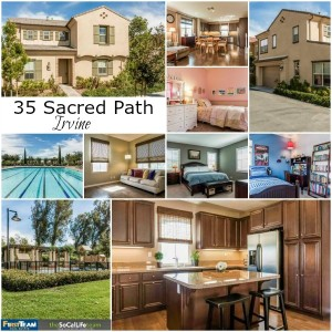Home for Sale in Irvine: 35 Sacred Path
