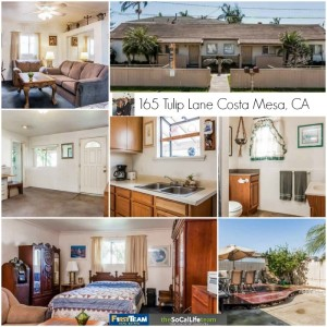 Home for sale in Costa Mesa: 165 Tulip Lane