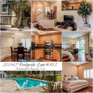 Home for Sale: 20342 Bridgeside Lane #102 in Huntington Beach