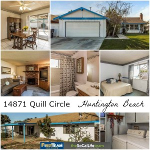 14871 Quill Circle in Huntington Beach: Home for Sale