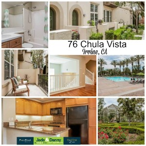 Home for Sale in Irvine: 76 Chula Vista