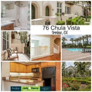 Home for Sale in Irvine CA: 76 Chula Vista