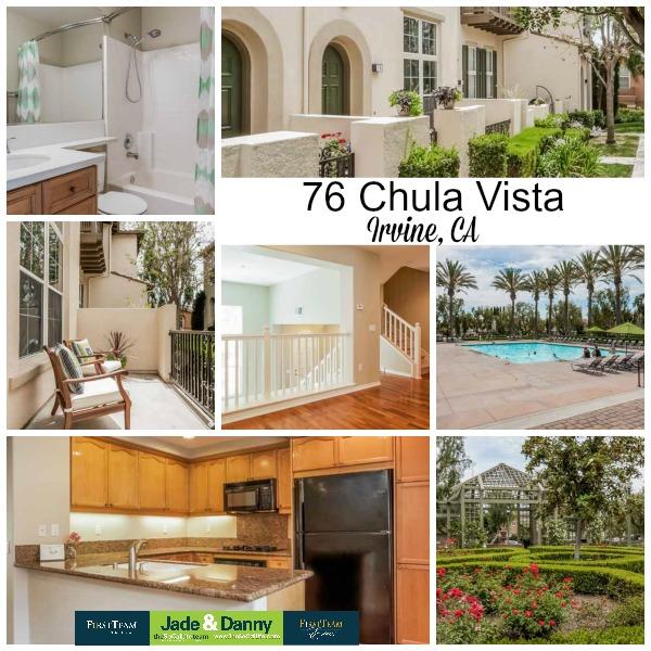 Home for Sale in Irvine: 76 Chula Vista