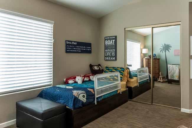 The large second bedroom has 2 closets plus en-suite full bath.