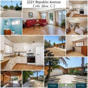 Home for Sale: 2221 Republic Avenue, Costa Mesa 92627