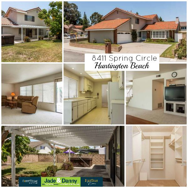 Home for sale in Huntington Beach: 8411 Spring Circle