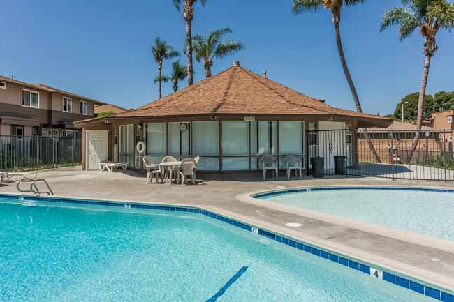 Fountain Valley Townhouse Pool