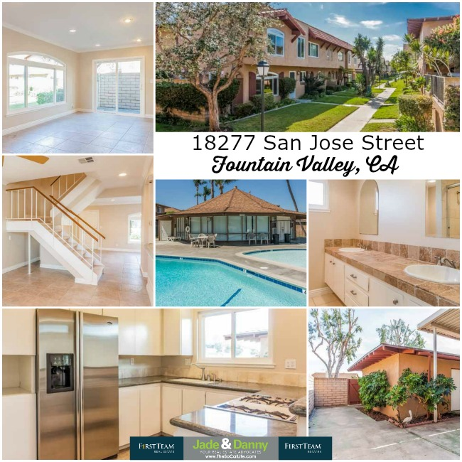 Home for Sale in Fountain Valley: 18277 San Jose Street