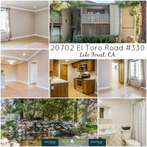 20702 El Toro Road #330 in Lake Forest is for Sale!
