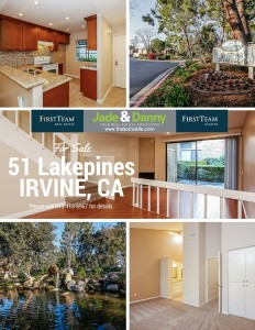 51 Lakepines, Irvine CA: Home for Sale
