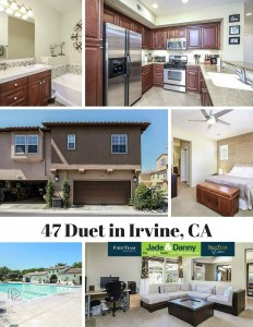 Home for Sale in Irvine: 47 Duet