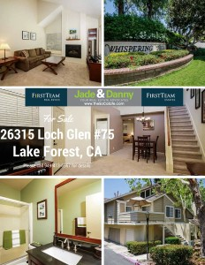 26315 Loch Glen #75 Lake Forest