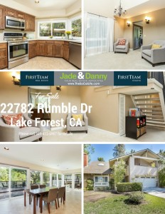 22782 Rumble Dr. in Lake Forest