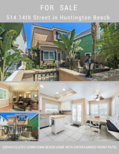 DOWNTOWN BEACH HOME -BLOCKS FROM THE SAND & FEATURING OCEAN BREEZES!