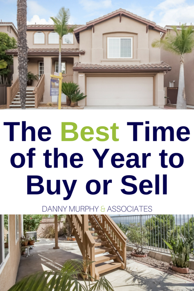 If you are a first time home buyer, a millennial home buyer, or someone who is looking to educate themselves on the real estate world this information is for you! Believe it or not there is a sort of cycle of ups and downs in the SoCal real estate world. You can figure out what the best time of the year to buy or sell a home is with a little help from this info and a few tips.