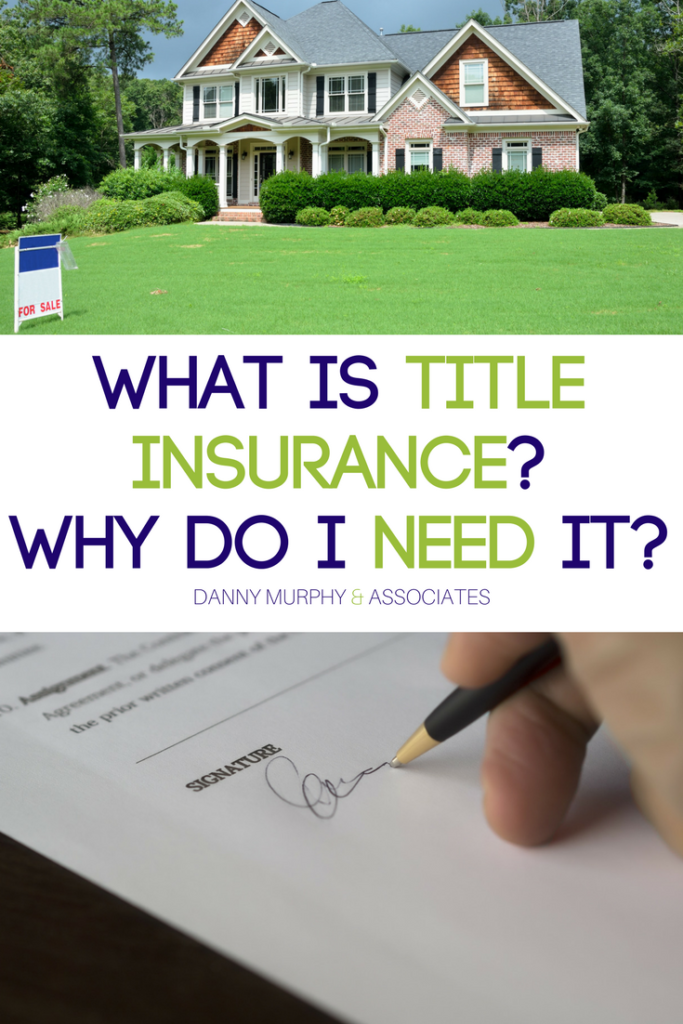 If you are a first time home buyer it can be difficult to navigate the ins and outs of the real estate world and all that comes along with it. Today we're going to discuss Title Insurance and why it's important that you check off that box when purchasing real estate.