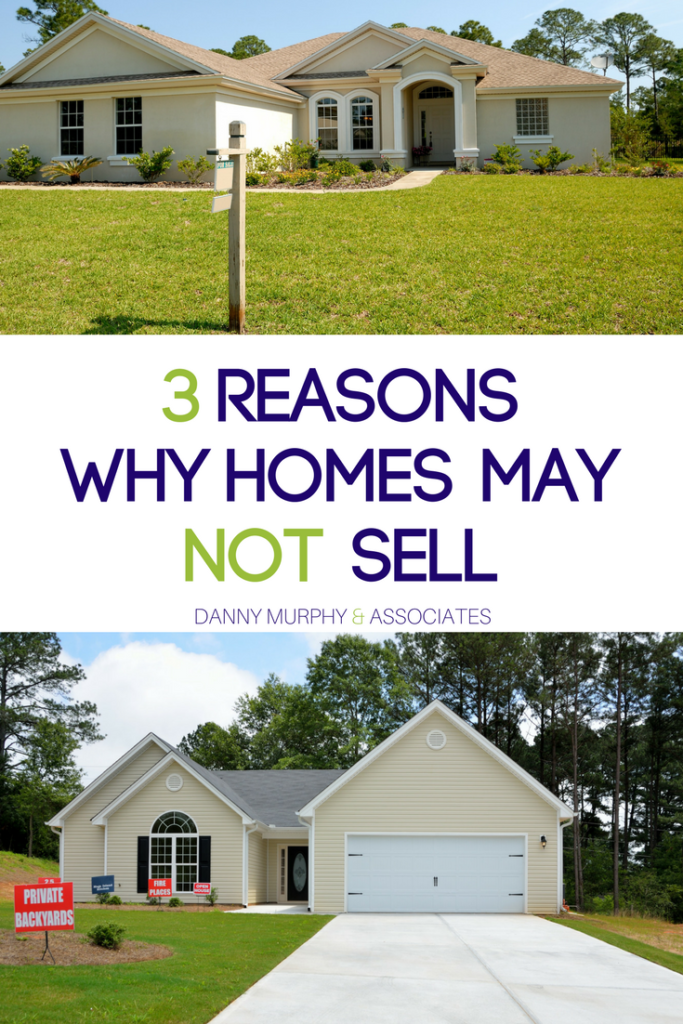 Selling your home can be a stressful and difficult time. Instead of going in blind and hoping for the best, check out these three reasons why homes may not sell. You can plan ahead and make sure that your home is not one of those sitting on the market indefinitely.