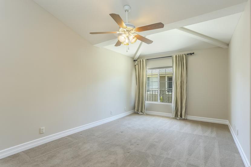 Dual Master Bedrooms in Aliso Viejo Penthouse Condo