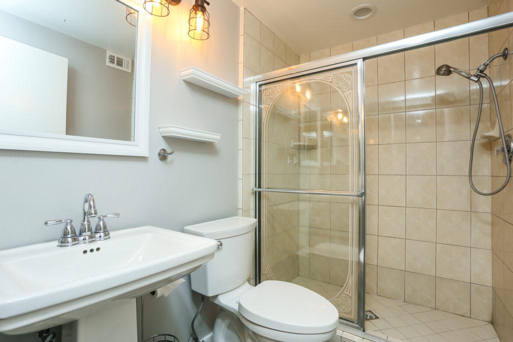 bathroom in home on Keel Drive
