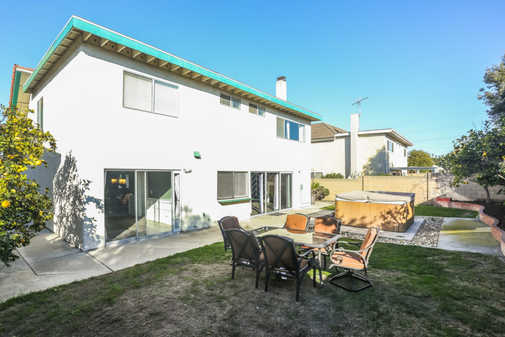 backyard in 8532 Keel Drive in Huntington Beach, CA