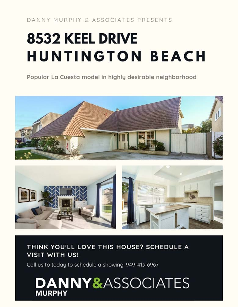 pictures of a home for sale in Huntington Beach -8532 Keel Drive